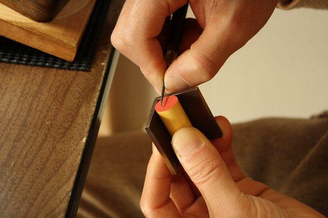 手彫り印鑑 印章 手彫りハンコはんこ